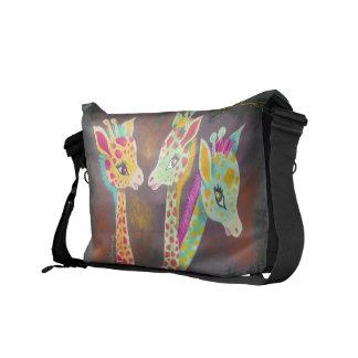 Three Giraffes Courier Bags