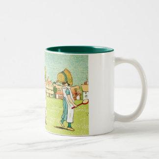 Three Girls In Bonnets Coffee Mugs