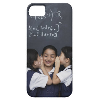 Three girls in classroom whispering iPhone SE/5/5s case