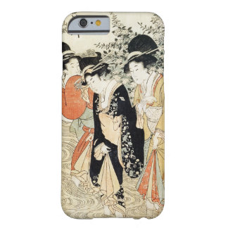 Three girls paddling in a river, from the 'Fashion Barely There iPhone 6 Case