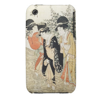 Three girls paddling in a river, from the 'Fashion iPhone 3 Cover