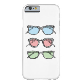 Three Glasses Sketch Barely There iPhone 6 Case