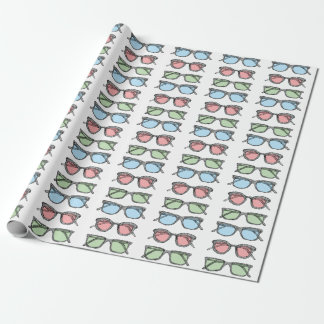 Three Glasses Sketch Wrapping Paper