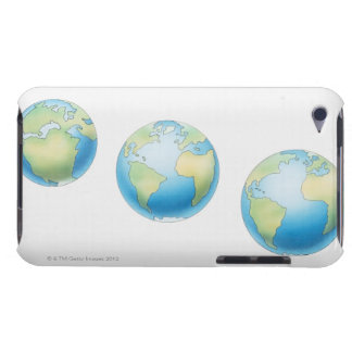 Three Globes iPod Case-Mate Case