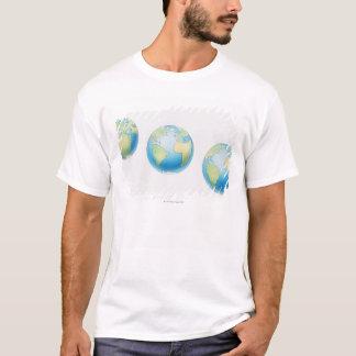 Three Globes T-Shirt