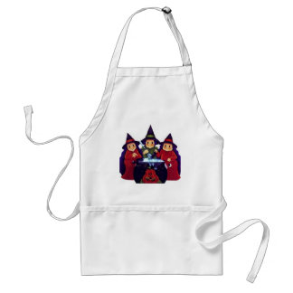 Three Good Witches Adult Apron