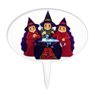 Three Good Witches Cake Topper