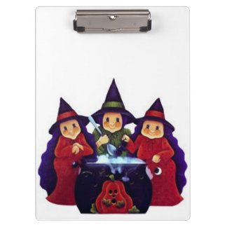 Three Good Witches Clipboard
