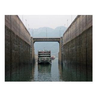 Three Gorges Dam Postcard