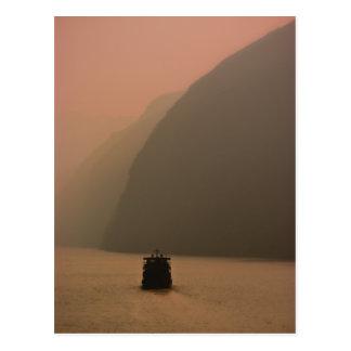 Three Gorges Sunrise Postcard