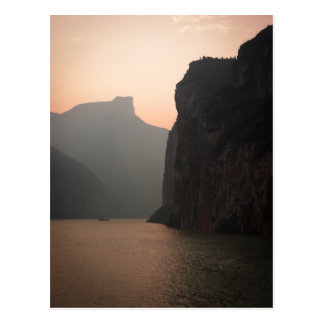 Three Gorges Sunset Postcard