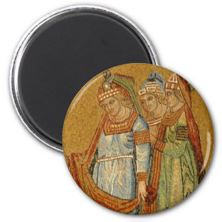 Three Graces 2 Inch Round Magnet