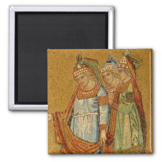 Three Graces 2 Inch Square Magnet