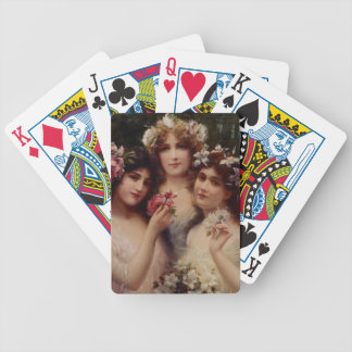 Three Graces by Emile Vernon Bicycle Playing Cards