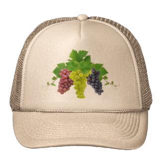 Three grapes trucker hat