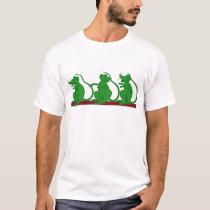 Three Green Mice T-Shirt