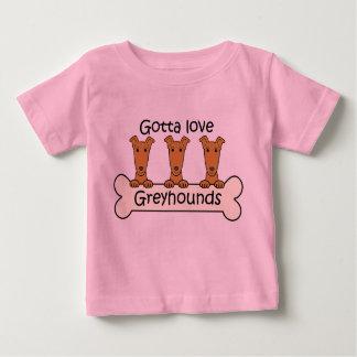 Three Greyhounds Baby T-Shirt