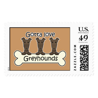 Three Greyhounds Postage