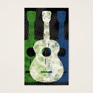 Three Guitars Business Cards