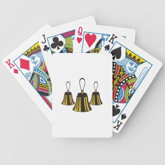 Three Handbells Bicycle Playing Cards