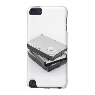 Three hard disks stacked iPod touch 5G case