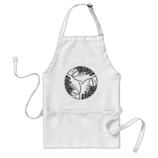 Three head-to tail spiny lobsters adult apron
