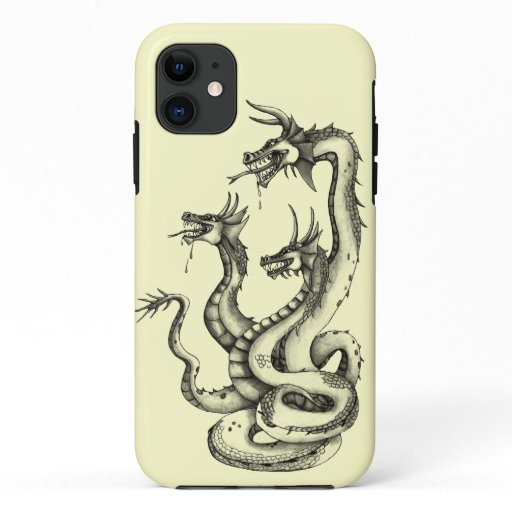 Three Headed Hydra Design Case-Mate iPhone Case