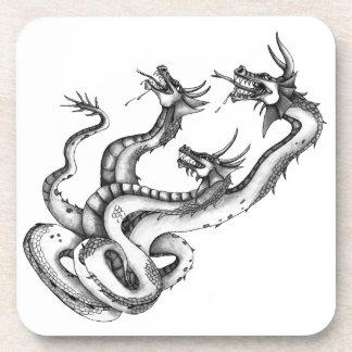 Three Headed Hydra Design Coaster