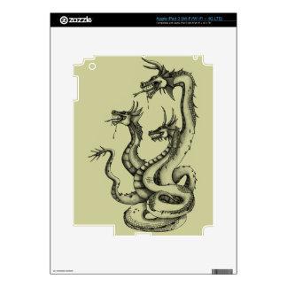 Three Headed Hydra Design iPad 3 Decal