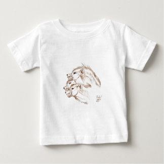 Three headed Hyena Baby T-Shirt
