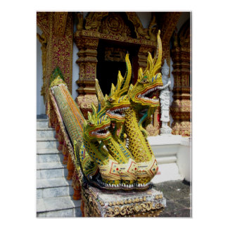 Three-headed Naga Poster