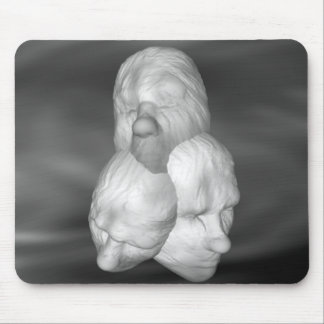Three Heads Mouse Pads