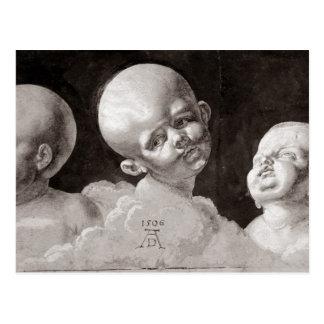 Three Heads of Children, 1506 Postcard