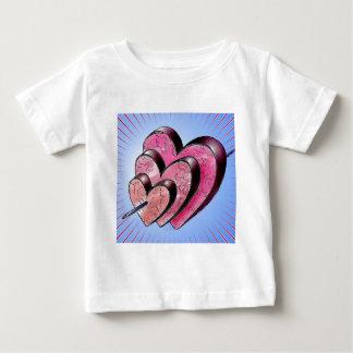 three hearts baby T-Shirt