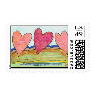Three Hearts .. for u ... Stamps