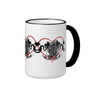 Three hearts Tribal cup