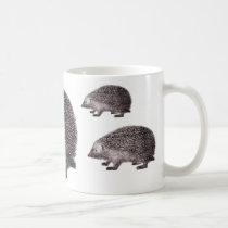 Three Hedgehogs Mug