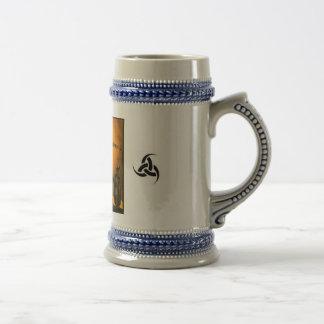 Three horn Fenris and Tyr stien Coffee Mug