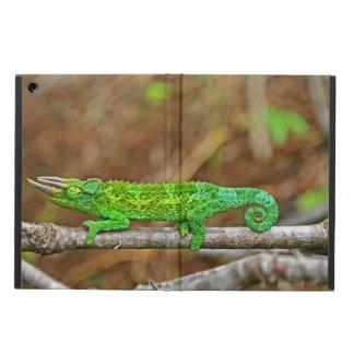 Three Horned Chameleon iPad Air Cases