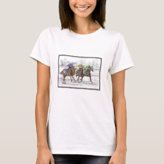 Three Horse Race - Neck and Neck T-Shirt