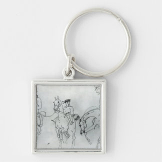 Three Horsemen Keychain
