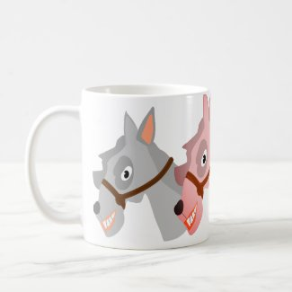 Three Horses Coffee Mug