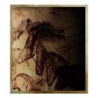 Three Horses of Lascaux Poster