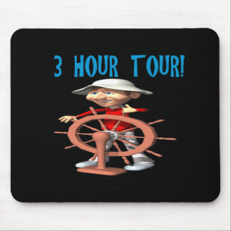 Three Hour Tour Mouse Pad