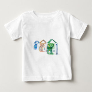 Three houses made of bank notes baby T-Shirt