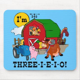 THREE-I-E-I-O MOUSE PAD