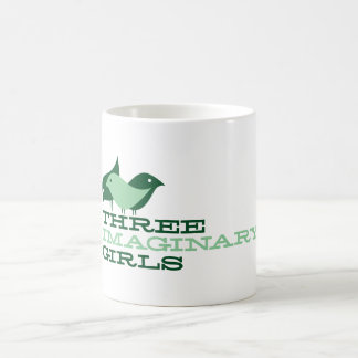 Three Imaginary Girls {birds} coffee mug