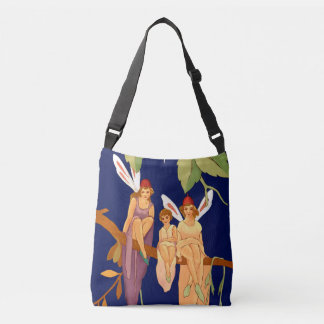 """Three in a Tree"" Cross-Body Tote"