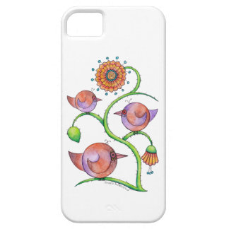 'Three in a tree' iPhone 5 Barely There Case