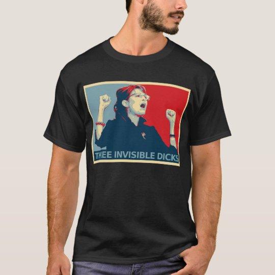 Three Invisible Dicks T-Shirt